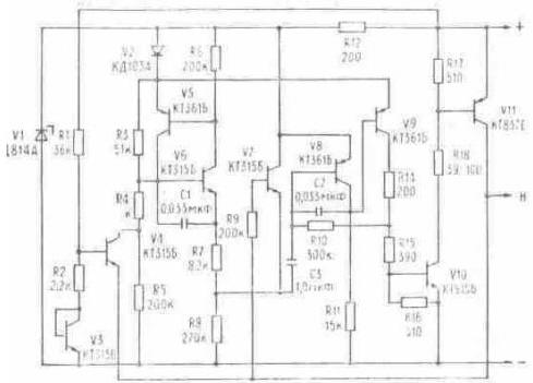 Рено реле поворотов схема электрическая схемы на микросхемах.