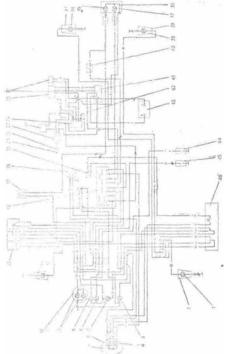 Daewoo lanos электрическая схема.